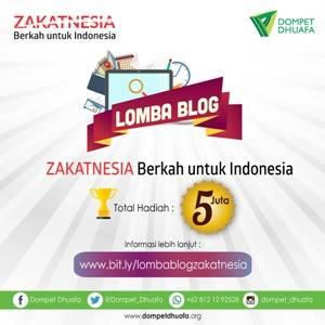 lomba blog zakatnesia dompet dhuafa