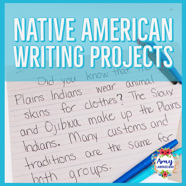 Click here to learn about teaching elementary students about Native American History.  You'll learn how to combine your Native American social studies unit together with reading and writing in order to fit everything into your year. Common core standards are included in the post to help you align your curriculum.  Perfect for 2nd grade and 3rd grade!