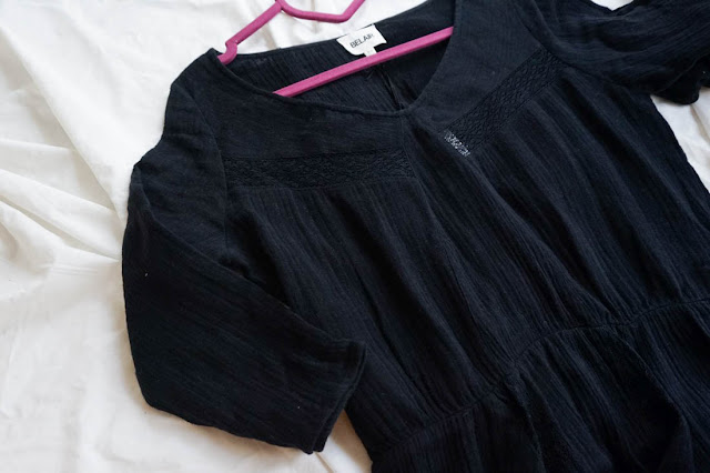 robe noire Bel Air