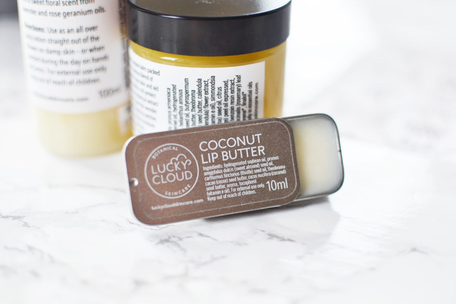 Lucky Cloud Coconut Lip Butter
