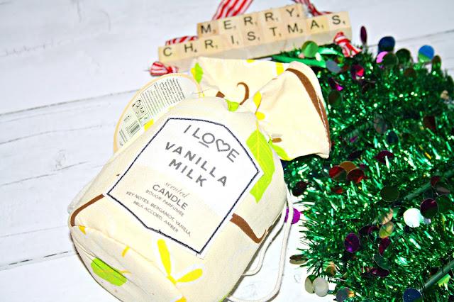 I Love... Vanilla Milk Candle