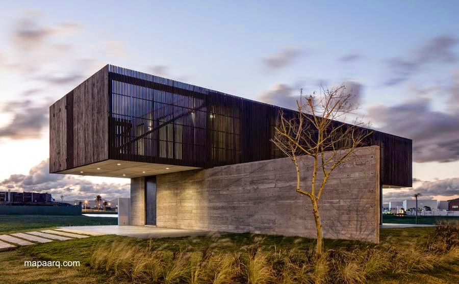 Casa moderna contemporánea en Brasil
