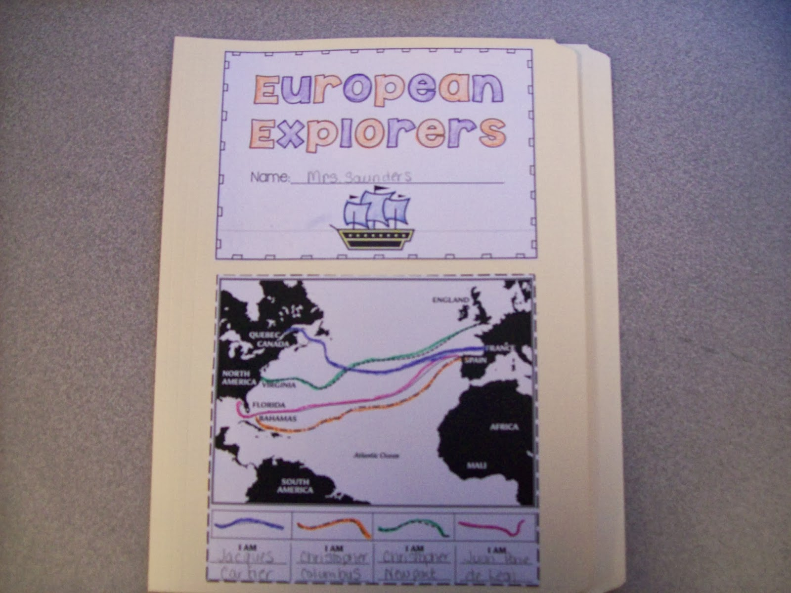 The Teaching Oasis Explorer S Lapbook