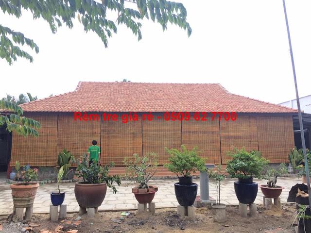 Rèm tre trúc quận Bình Thạnh