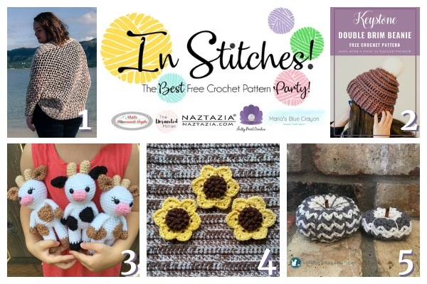 Best Free Crochet Patterns In Stitches Link Party Week 19