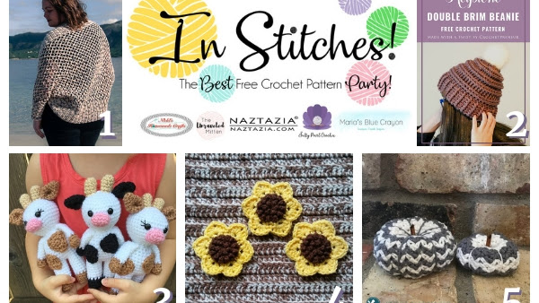 Best Free Crochet Patterns - In Stitches Link Party Week #19