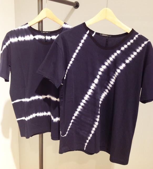 pas de calais【パドカレ】絞り染めTシャツ▼香川・綾川店