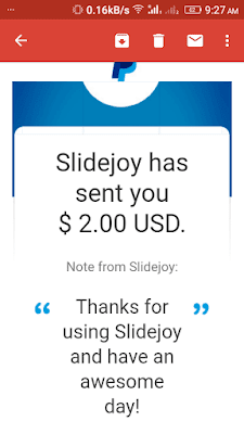 slidejoy payment proof