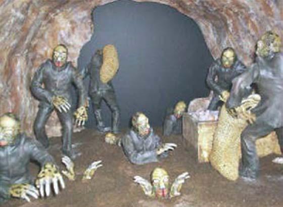 Kisah Nasa Temui Kaum Mole di Dalam Perut Bumi