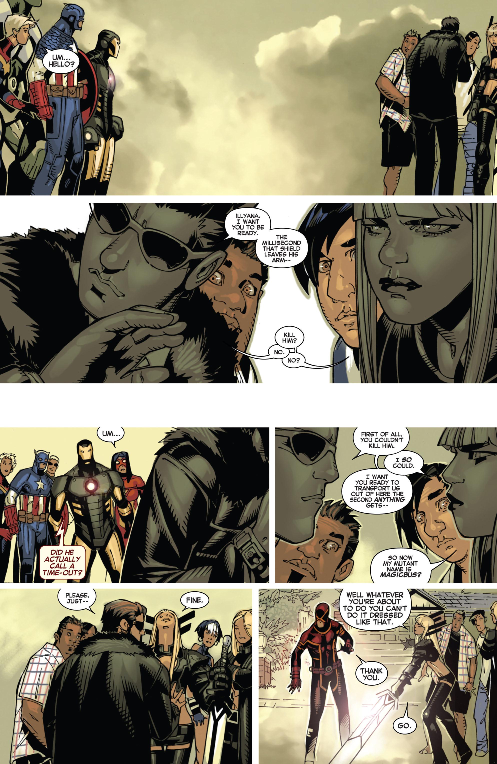 Read online Uncanny X-Men (2013) comic -  Issue #3 - 6