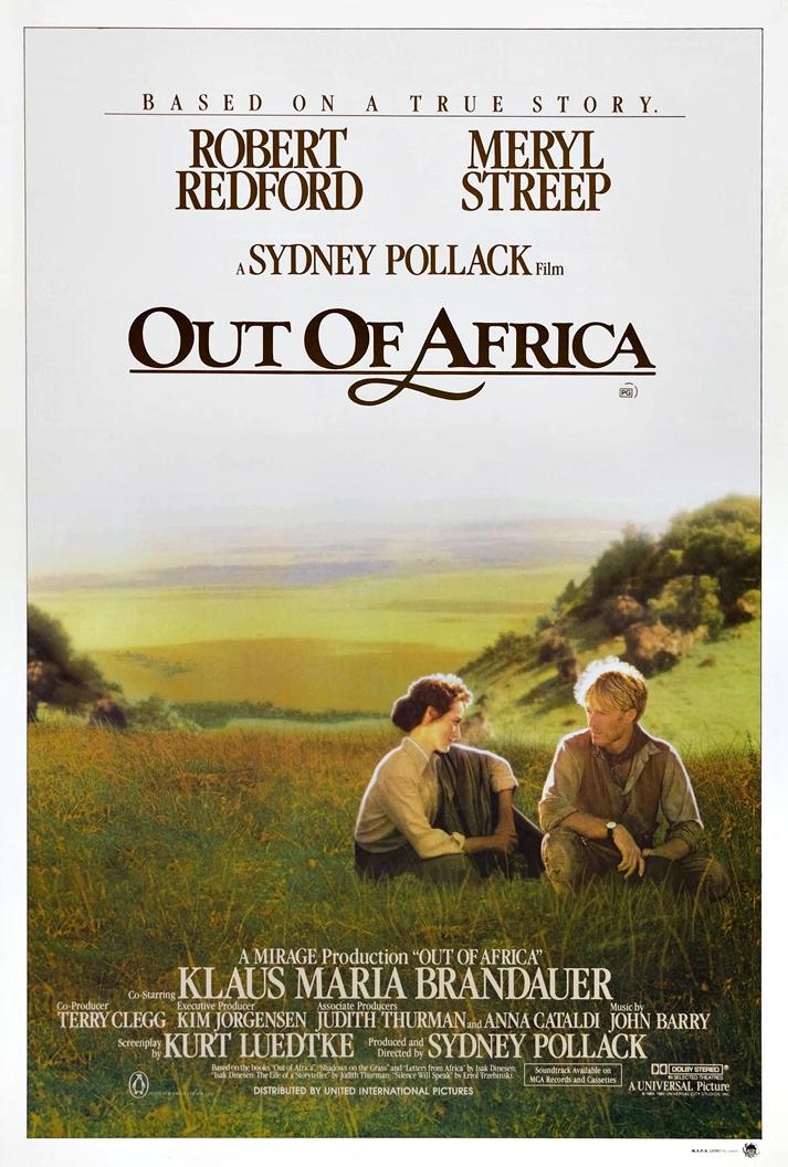 Póster: Memorias de África (Out of Africa, Sydney Pollack, EE.UU. 1985).