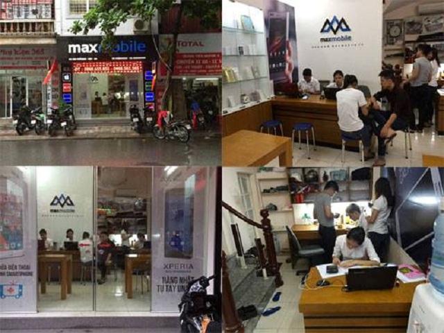 Cửa hàng Maxmobile cơ sở sửa chữa máy Xiaomi uy tín