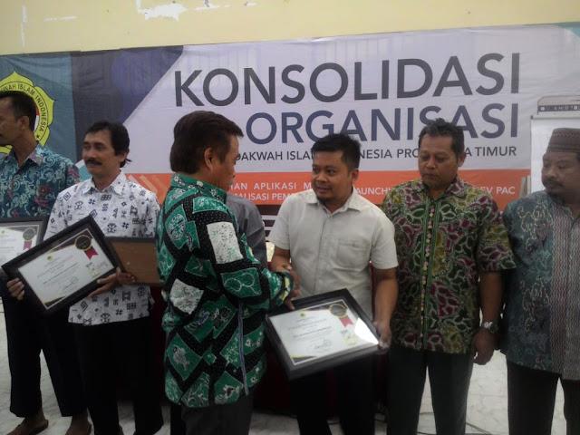 LDII Bondowoso Meraih Penghargaan Konsolidasi Monev LDII Jatim