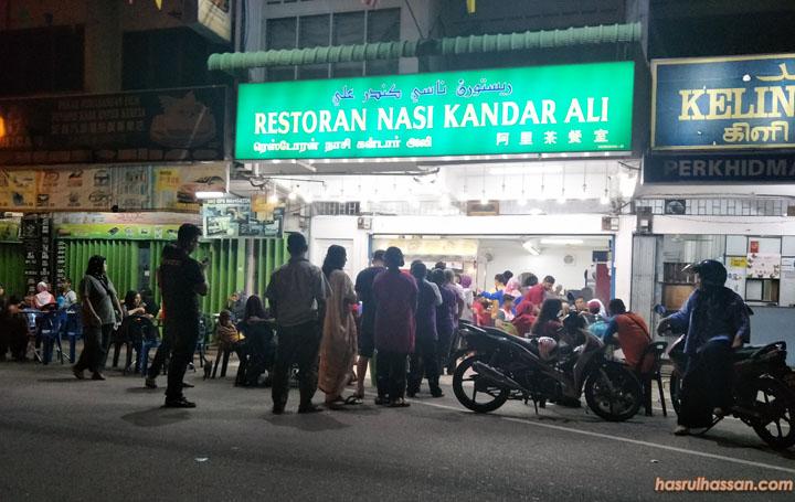 Lokasi Restoran Nasi Kandar Ali Popular di Parit Buntar