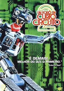 Um Robô em Curto Circuito 2 - BDRip Dual Áudio