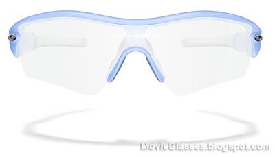 Custom Oakley Radar Glasses as worn by Jennifer Aniston in Horrible Bosses  (Front View)