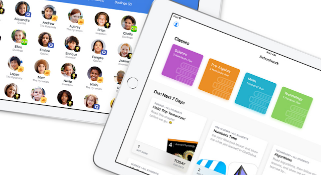 Apple Launches Schoolwork And Classroom App To Teachers For Free