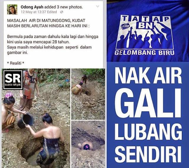 Image result for Gambar Sabah di anak tirikan BN