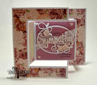 Stamp/Die Duos: With Sympathy, Wavy Words  Custom Dies: Tri-Fold Card with Layers, Mini Cups & Mugs, Easter Eggs, Foliage & Leaves, Ovals, Pierced Ovals  Paper Collections: Romantic Roses, Shabby Pastels