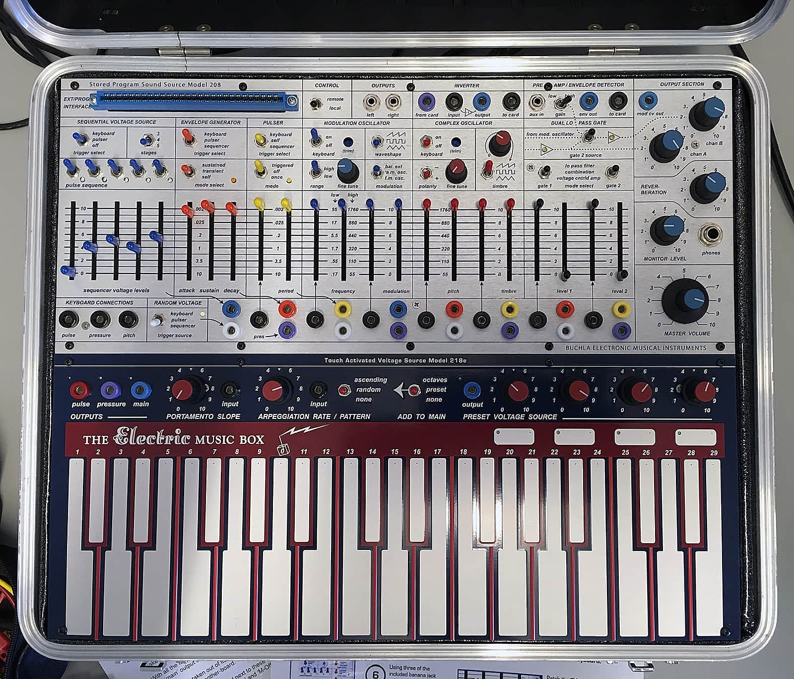 matrixsynth pittsburgh modular synthesizers bemi buchla music easel. Black Bedroom Furniture Sets. Home Design Ideas