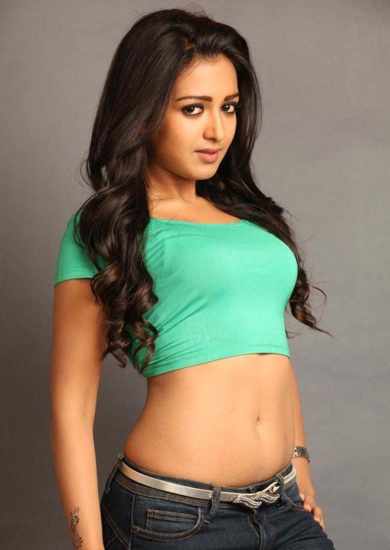 Hot Telugu Actress Catherine Tresa Sexy Navel Show Photos -9720