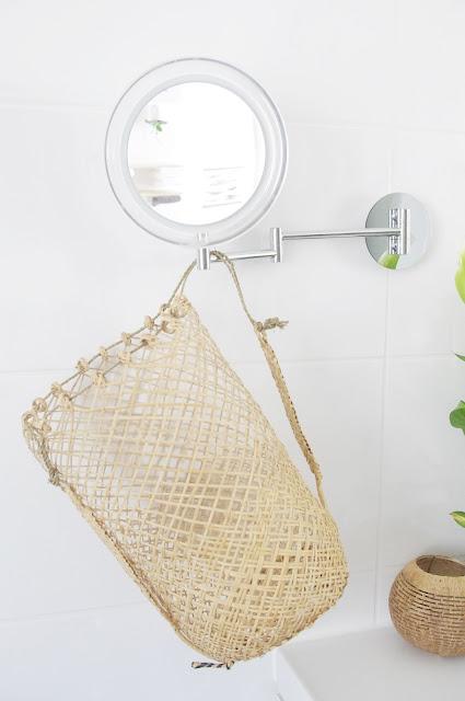 Badezimmer natürlich dekorieren