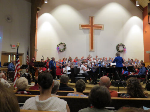 choir with accompanyists