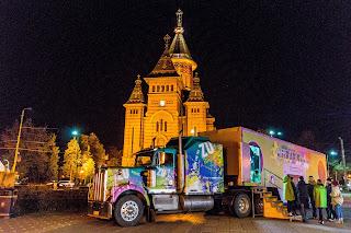 FOTO: Truck-ul ZU a ajuns si la Timisoara