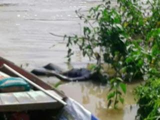 Jasad Mr X Ditemukan di Sungai Ogan
