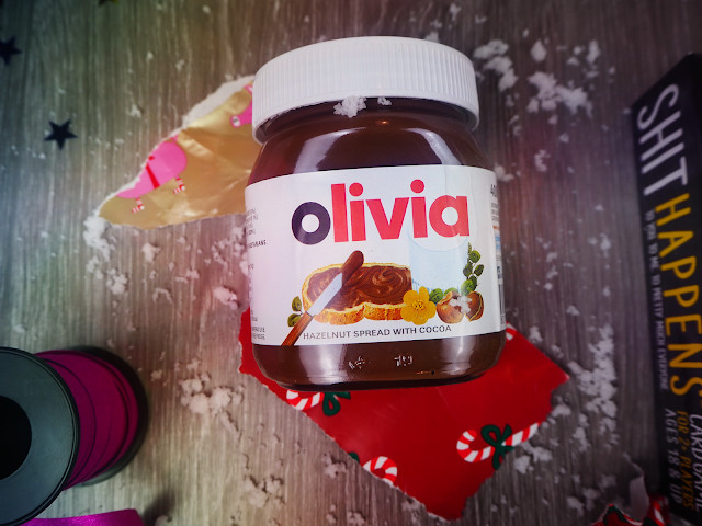 Personalised Nutella