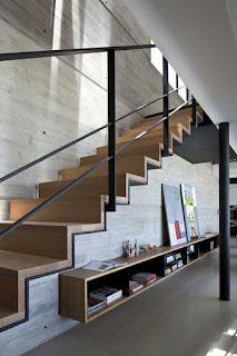 rangement sous escalier et id es d am nagement alternatif en 30 photos des id es de l. Black Bedroom Furniture Sets. Home Design Ideas