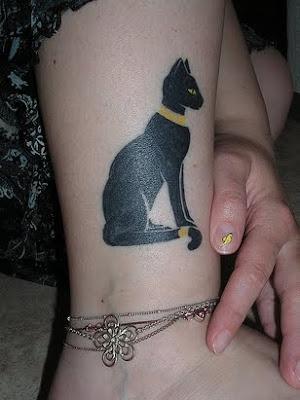 Tatuajes Egipcios Gato Egipcio Letras Para Tatuajes Tatuaje