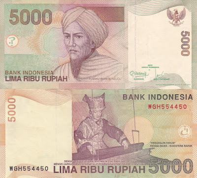 Uang 5000 lama