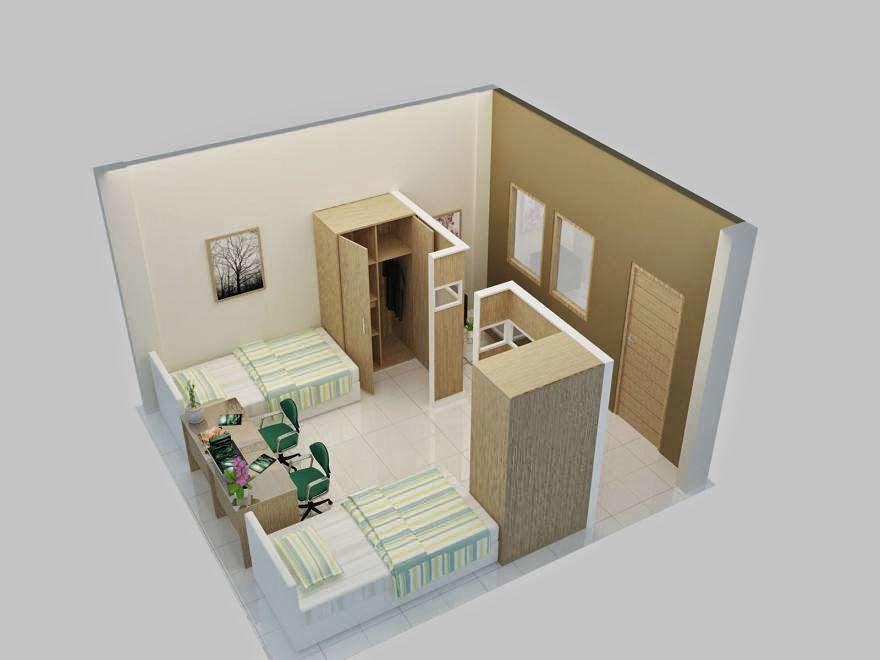Desain Rumah Petak Minimalis Images & Design Interior Rumah Petakan \u0026 Denah Rumah Minimalis 3 Kamar Tidur ...