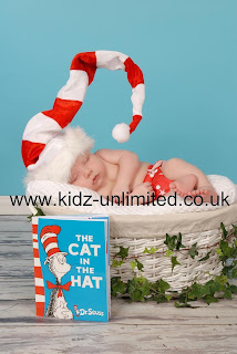 cat in the hat, baby, photoshoot