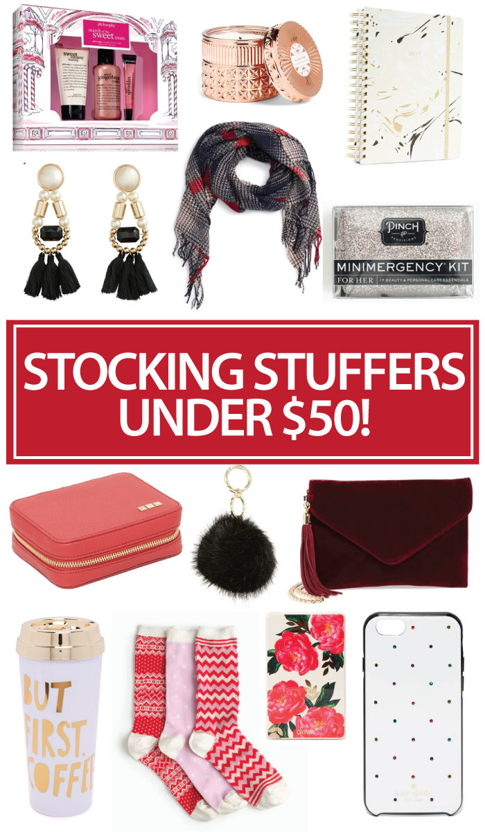 stocking stuffers under $50, holiday gift guide, christmas present ideas