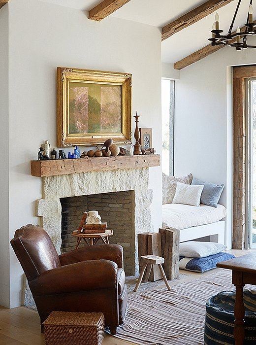 Patina Farm home office Steve and Brooke Giannetti