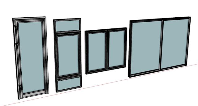 Cửa hàng thi công được tất cả các loại cửa nhôm kính với máy móc hiện đại