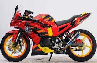Foto Modifikasi Fairing Yamaha Byson