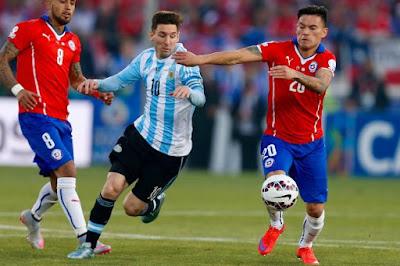 Nhận định, soi kèo Argentina vs Chile