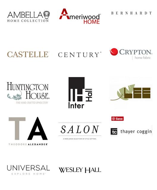 sponsors High Point Market Design Bloggers Tour Fall 2016