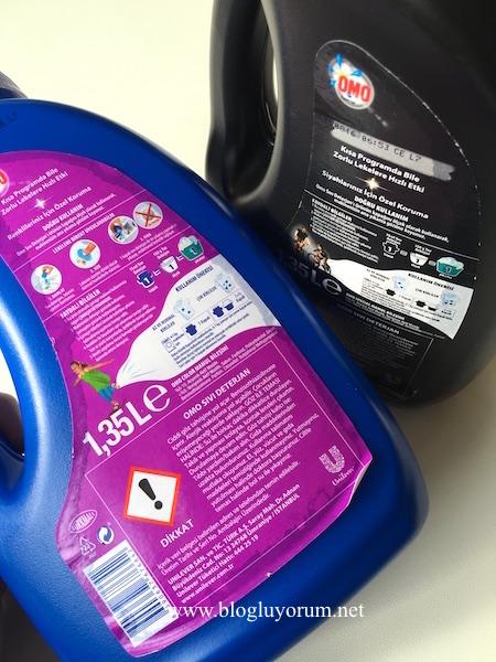 omo color omo special sıvı çamaşır deterjanı