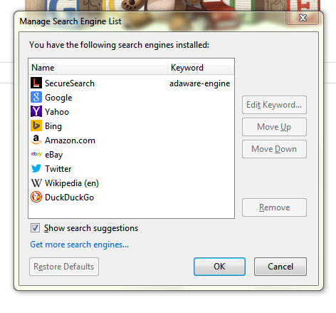 How To Set Google as Default Search Engine in Firefox