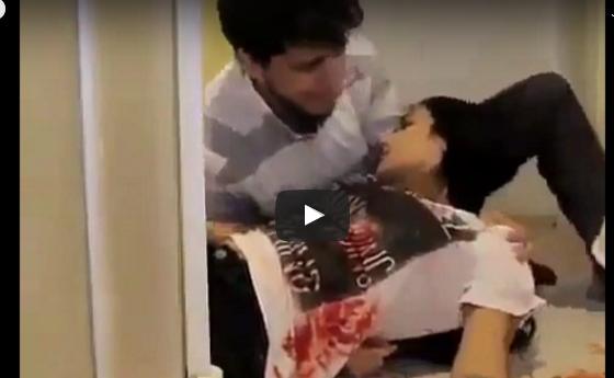 هذا ما فعله شاب وجد حبيبته غارقة بدمائها شاهدوا ردّ فعله الصادمة
