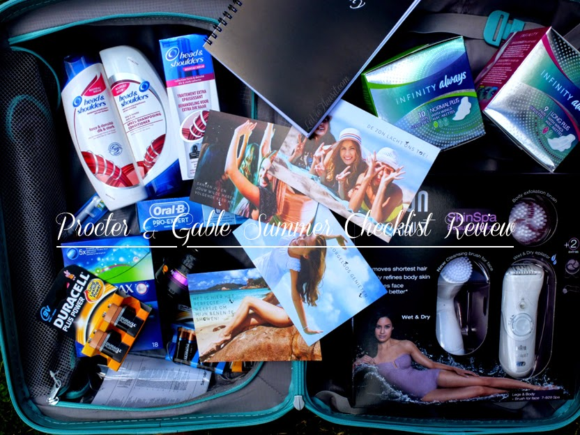 Beauty, BBlogger, Beautyblog, Beautyblogger, Review, Hair, Skin, Body, Braun, Samsonite, Head & Shoulders, Pantene, Oral-B, Procter & Gamble Treatment, Travelling, Blog, www.LaVieFleurit.com