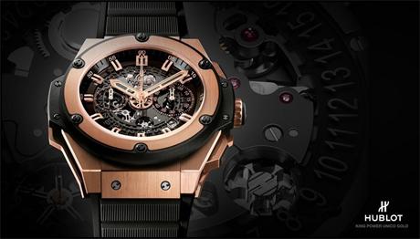 ab5b72a8d1c ... a borracha se tornou o centro de interesse das melhores marcas de  relojoeiros