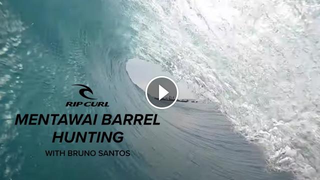 Mentawai Barrel Hunting with Bruno Santos Rip Curl