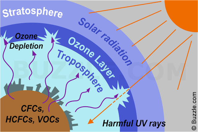 Ozone depletion