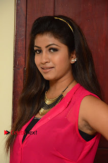 Actress Geethanjali Pictures in Pink Dress at Avanthika Movie Opening 0011