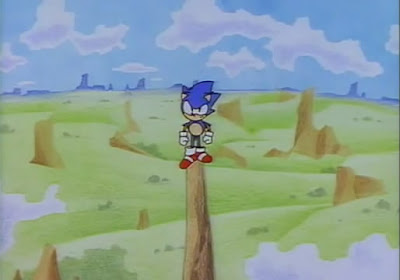 Jonathan Harris Writes: Sonic CD intro movie